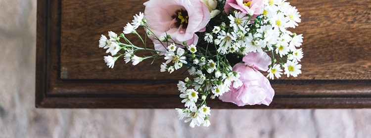цветы на гробу