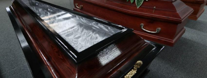 гроб со стеклом