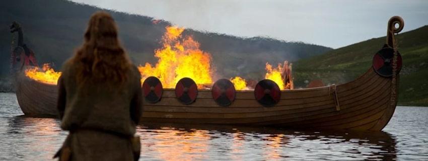 Похороны викингов